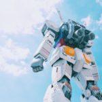 Giant transformer robot