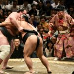 Sumo tournament Japan
